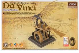 this is the da vinci flying machine from the academy hobby models da vinci machines series flying machine of leonardo da vinci inspired by birds move the