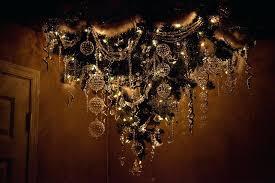 upside down chandelier plus upside down tree by upside down chandelier cake 819