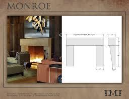 modern fireplace mantels for modern fireplace mantels for unique monroe modern stone fireplace mantel modern indoor