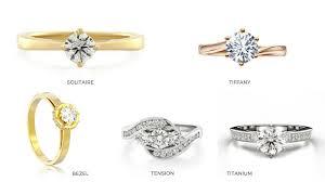 Engagement Ring Setting Chart Monty Adams Jewellery