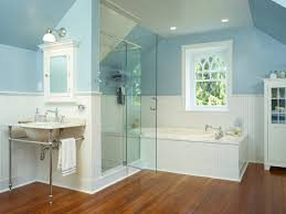 hardwood bathroom floor