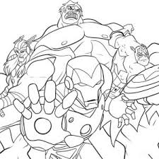 Small Picture Superhero Coloring Pages Printable Pictures Superhero Avengers