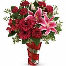 teleflora s swirling desire bouquet