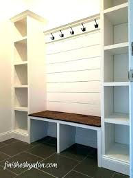 brilliant mudroom storage bench club good 8 within ikea shelves for your property