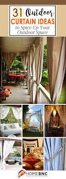 31 outdoor curtain ideas and designs
