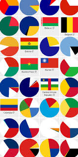 All the flags of the world. Flag Colors Printable Flags