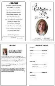 How To Make A Funeral Program How To Make A Funeral Programme Using Ms Word Funeral