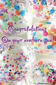 Congratulations For A Baby Boy Newborn Baby Boy Wishes To Parents With Images