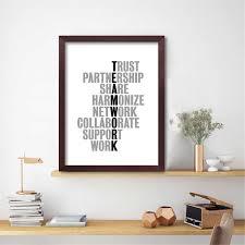 <b>Inspirational Quote</b> Poster TeamWork <b>Canvas</b> Painting <b>Prints</b> Wall ...