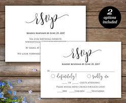 Rsvp Template Online Best Wedding Websites For Rsvp Rsvp Printable Card Wedding