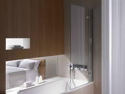 glass bathtub wall panel betteocean ii by bette