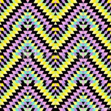 seamless pattern turkish carpet blue lilac purple pink black yellow patchwork mosaic oriental kilim rug with traditional folk geometric ornament