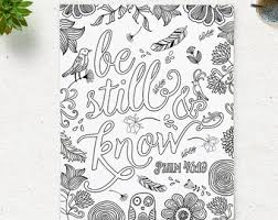 Small Picture Adult Coloring Page Enjoy the little things Instant Download