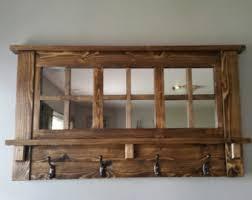 Wooden Wall Coat Racks Mirror Coat Rack Etsy 68