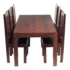 indian dining table 6 chairs. indian hub toko mango 180cm dining table with 6 chairs