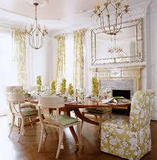traditional home dining rooms. Green-and-White Dining Room Traditional Home Rooms