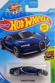 Amazing stories around the world: Amazon Com Hot Wheels 2019 Hw Exotics 16 Bugatti Chiron Blue 236 250 Toys Games