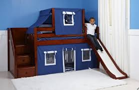 kids loft bed with slide. Decorating Gorgeous Kids Loft Bed With Slide 18 Low Bunk Beds For Tent