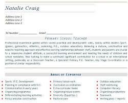 Cv For Teaching Teaching Cv Example Templates Mainstream Education