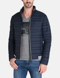 armani exchange packable down puffer jacket man front
