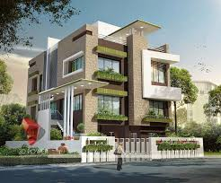 3D Exterior Rendering Creative Decoration