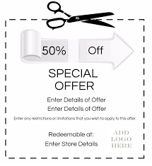 Create Your Own Voucher Template Coupon Maker 1