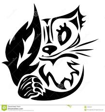 Tatuaggio Gatto Nero Stilizzato Ngebet