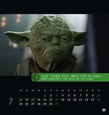 Meister Yoda Postkartenkalender 2016 Amazonde Bücher