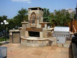 back to best outdoor fireplace kits plans