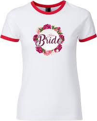 Team Bride Junggesellenabschied Jga T Shirt Ringer Damen