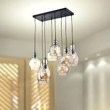 pendant chandelier light cognac glass 8 light cer pendant gypsy chandelier pendant ceiling light