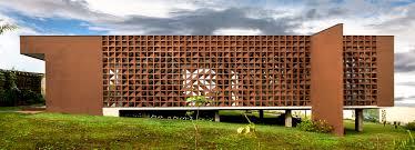 Perforated Brick Wall Design 1 1 Arquitetura Design Ventilates Brazilian Home Using