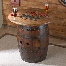 wood barrel furniture. Wine Barrel Furniture Ideas Whiskey Coffee Table Dining Room Side Outdoor Large Brass Foosball For Sale Barrels Metal With Storage Lucite Wood
