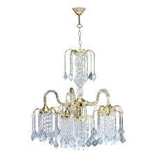 ore international 4 light polished brass chandelier