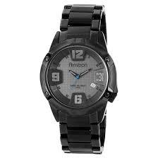 armitron® men s bracelet watch black ion target armitron® men s bracelet watch black ion