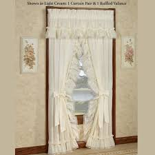 Priscilla Curtains Living Room Curtains Stephanie Ruffled Priscilla Curtains Solid Color