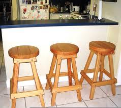 3 backless bar stools options 36 h douglas fir round