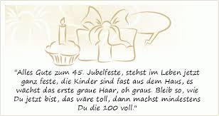 Sprüche Zum 45 Geburtstag Einer Von 8 Sprüchen