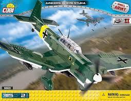 Самолет штурмовик Юнкерс с двумя ... - Конструктор COBI