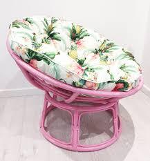 Light Pink Papasan Chair Flamingo Pink Papasan Chair Tropical Coloured Frames With