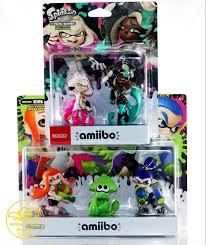 Splatoon 2 Brand Chart Amiibo Splatoon 2 Inkling Girl Squid Boy Pearl