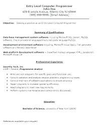 Programmers Cv Template Get Your Programmer Resume Noticed With A ...