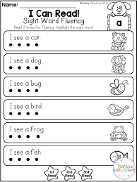 Pre K Sight Words Worksheets Worksheets for all | Download and ...