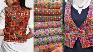 Embroidered Jacket Designs New Phulkari Short Jacket Design Ideas New Short Embroidered Short Jacket Ideas For Kurta