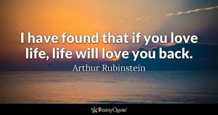 love life quote with image