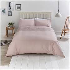 sainsbury s home scollop embroidery pink bed linen