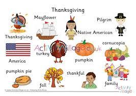 Word Thanksgiving Thanksgiving Word Mat