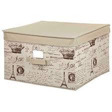 Cheap Decorative Storage Boxes Large Decorative Storage Bins Storage Box Cube Basket Lid 95
