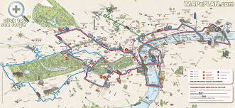 download map of london sightseeing major tourist attractions maps