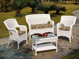 patio furniture white. Home Depot White Wicker Patio Furniture Sets T